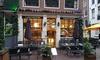 Burgermenu + drankje in Amsterdam
