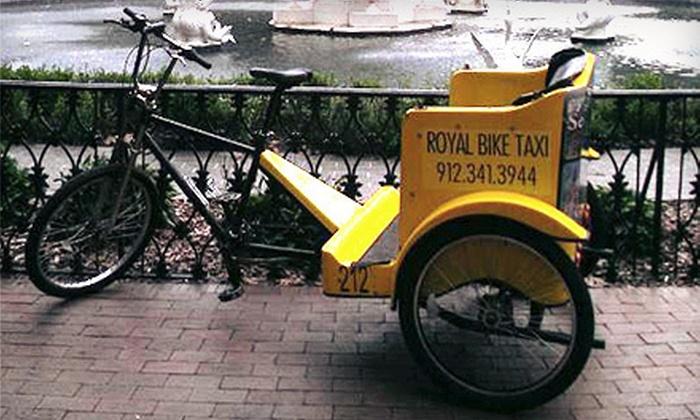 Royal Bike Taxi - Savannah: A Bike Taxi Photo Safari for 2 at Royal Bike Taxi