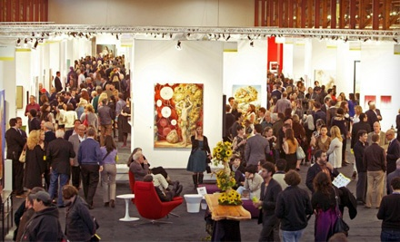 Two One-Day Passes (a $50 value) - 2012 San Francisco artMRKT at the Concourse Exhibition Center in San Francisco
