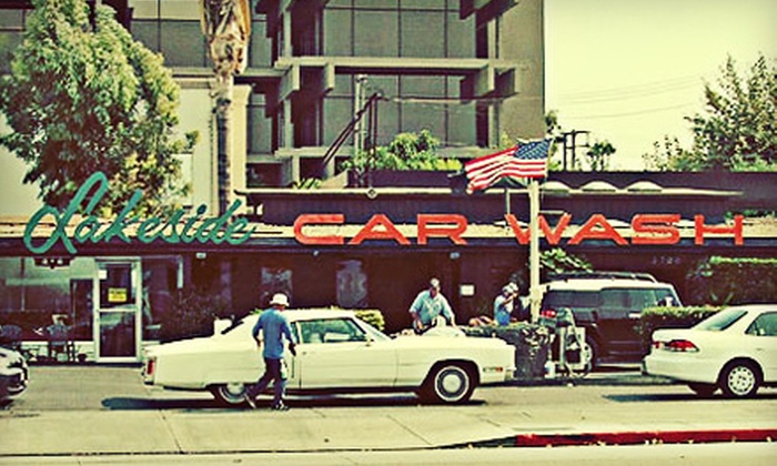 Lakeside Car Wash - Burbank: $29 for Three Combo #1 Car Washes at Lakeside Car Wash in Burbank ($66 Value)
