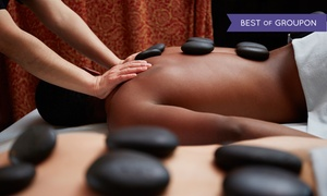 Hot Hands Studio & Spa: 60- or 90-Minute Hot-Stone Massage or Facial with Scalp Massage at Hot Hands Studio & Spa (Up to 51% Off)