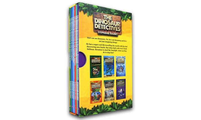the dinosaur detectives box set groupon goods