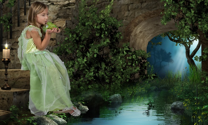 JR Photography - JR Photography: $35 for 30-Minute Fantasy Photoshoot for Ages 3 - 12 from JR Photography ($150 value)