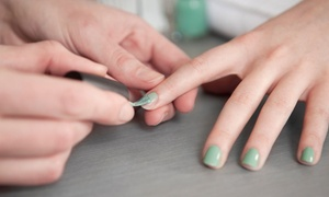 Maria King at All About You Day Spa: One or Two CND Shellac Manicures from Maria King at All About You Day Spa (Up to 56% Off)