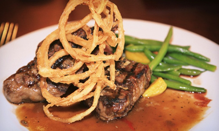 Stoney Brook Grille - Branchburg: Contemporary American Dinner Cuisine for Two or Four at Stoney Brook Grill (Up to 51% Off). Four Options Available.
