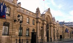 Groupon: Tentez de gagner une nuit dans les appartements présidentiels à l'Elysée avec Groupon !