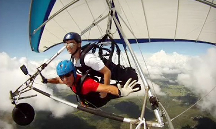 Quest Air Soaring Center - Groveland-Mascotte: Tandem Hang-Gliding Flight for One or Two at Quest Air Soaring Center (Up to 55% Off)