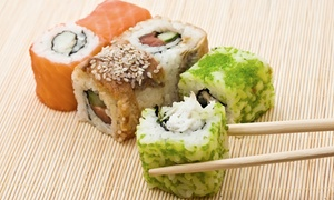 Tokyo Japanese Seafood & Steakhouse: Sushi and Japanese Cuisine at Tokyo Japanese Seafood & Steakhouse (50% Off). Two Options Available.