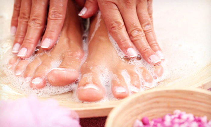 The G Spa Salon - Encino: $27 for a Gel Manicure and Spa Foot Soak at The G Spa Salon in Encino ($56 Value)
