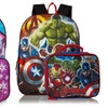Avengers and Disney Frozen Backpack with Matching Lunch Kit