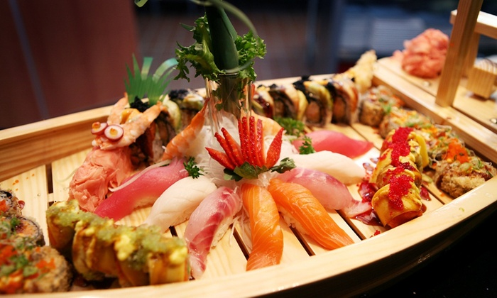 Shinto Naperville - Naperville: $25 for $50 Worth of Sushi or Hibachi Dinner at Shinto Naperville