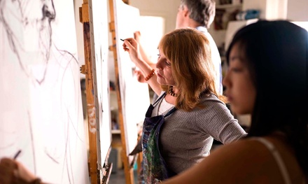Drink and Draw Event for One, Two, or Six from Pencil Portraits by Ashley (Up to 52% Off)