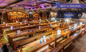 Bierkeller - Cardiff: Bavarian Meal, Stein and a Pretzel for One, Two or Four at Bierkeller Cardiff (50% Off)