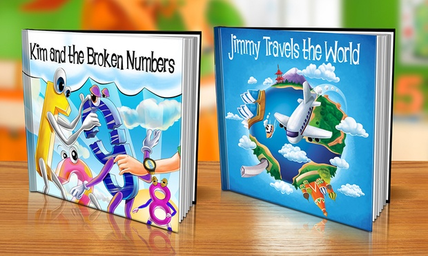Free Shipping: From $9.99 for a Personalised Childrens Storybook in Soft or Hardcover (Dont Pay Up to $79.98)