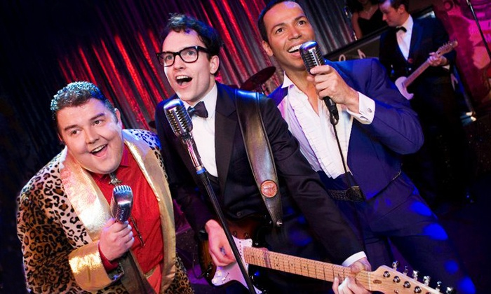 """""""Buddy: The Buddy Holly Story"""" - Palace Theater: """"Buddy: The Buddy Holly Story"""" at Palace Theater on January 23 or 24 (Up to 50% Off)"""