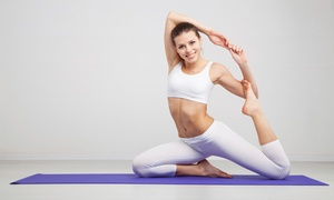 Yoga Planet Studio: Five Yoga Classes or One or Three Months of Unlimited Yoga Classes at Yoga Planet Studio (Up to 62% Off)