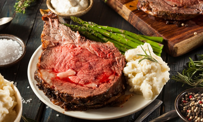 Baker's of Milford - Milford: Dinner for Two or Four, or $13 for $20 Worth of Steak and Seafood at Baker's of Milford