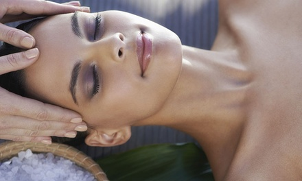 55-Minute Massage and Facial