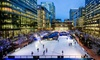 Ice Skating, Canary Wharf