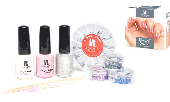 Red Carpet Gel Manicure Kits Groupon