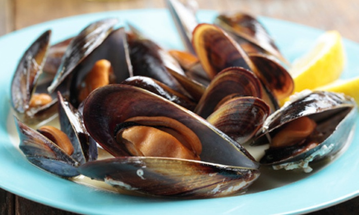 Griff's Landing - Downtown: $25 for $50 Worth of Seafood at Griff's Landing in Frederick