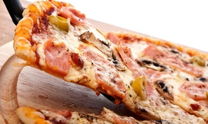 Papa John's Pizza - Modesto & Turlock: Pizza and Drinks at Papa John's Pizza - Modesto & Turlock (62% Off). Three Options Available.
