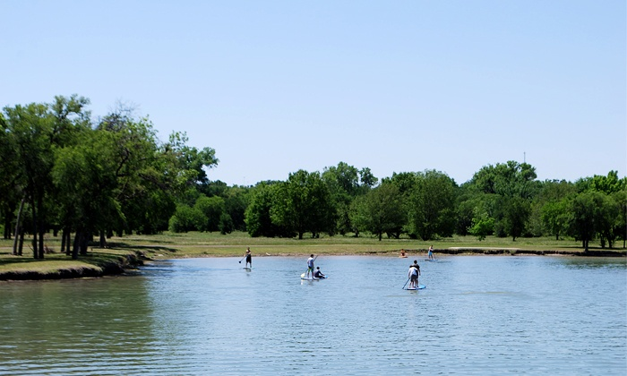 Texas MasterCraft - Fort Worth: One-Hour Standup-Paddleboard Rental for One, Two, or Four at Texas MasterCraft (Up to 51% Off)