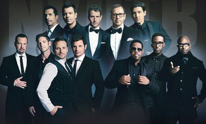 The Package Tour: New Kids On The Block With Guests 98° & Boyz II Men - Sprint Center: The Package Tour: New Kids On The Block With Guests 98° and Boyz II Men at Sprint Center on July 21 (Up to 52% Off)