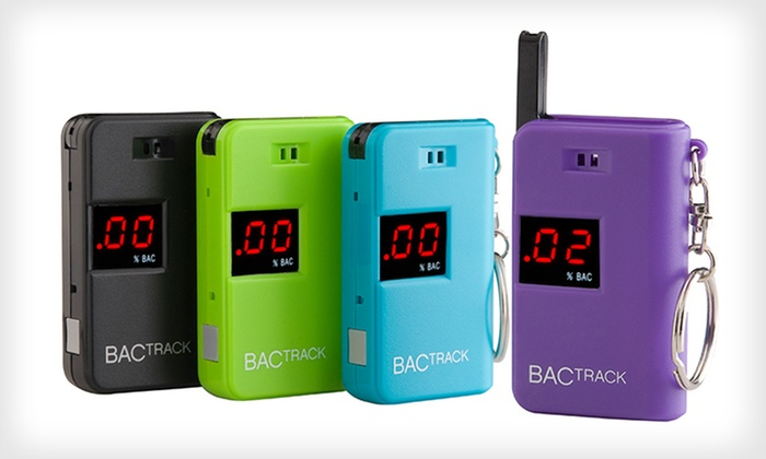 BACtrack Keychain Breathalyzer: $21.99 for a BACtrack Keychain Breathalyzer ($40 List Price). Four Options Available. Free Shipping.