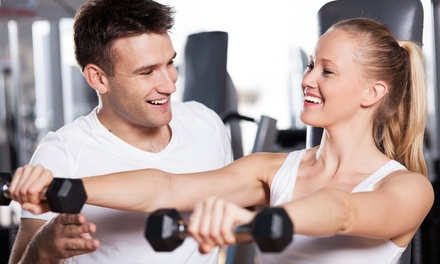 1-Month Gym Membership with 1 or 2 Personal-Training Sessions at Anytime Fitness-West Sacramento (Up to 68% Off)
