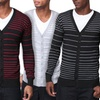 Dinamit Jeans Men's Slim-Fit Striped Cardigan