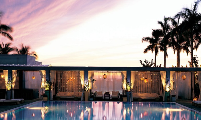 Spa at Shore Club - South Beach: Scalp-and-Body Massage, Pumpkin Facial, or Both with Infinity Pool Access at Spa At Shore Club (46% Off)
