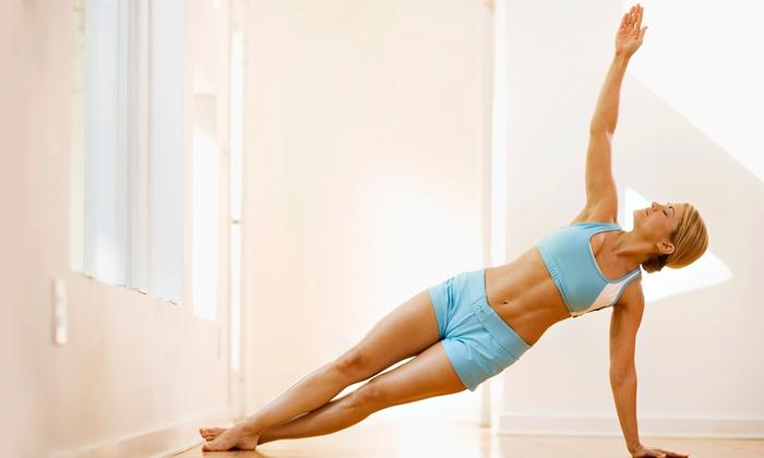 tAra Yoga - Multiple Locations: 5 or 10 Yoga Classes at tAra Yoga (Up to 55% Off)