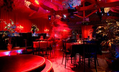 image for Three-Course Dinner with Prosecco and a Show for One, Two, Four, Six or Ten at Proud Cabaret Camden (Up to 57% Off)