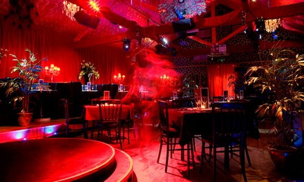 Cabaret and Burlesque Show with a Three-Course Dinner and Prosecco for Up to 10 at Proud Cabaret Camden (Up to 57% Off)