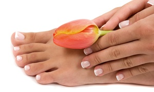 Spa Lounge: Mani-Pedi, Shellac Manicure and Pedicure, or Mani-Pedi with Massage or Facial at Spa Lounge (Up to 55% Off)