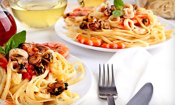 Cacio e Vino - Bowery: $32 for a Sicilian Dinner for Two with Wine at Cacio e Vino (Up to $77.85 Value)