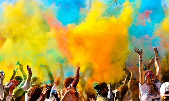 Color in Motion 5K - Memorial Park: $25 for a VIP Race Registration Package for One to Color in Motion 5K (Up to $50 Value)