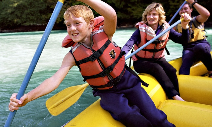 Eagle Bluff Resort - North Cherokee: $25 for a Leisure Rafting Trip for Two from Eagle Bluff Resort ($50 Value)