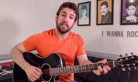 Four Private Music Lessons from Guitar Lessons with Shawn! (41% Off)