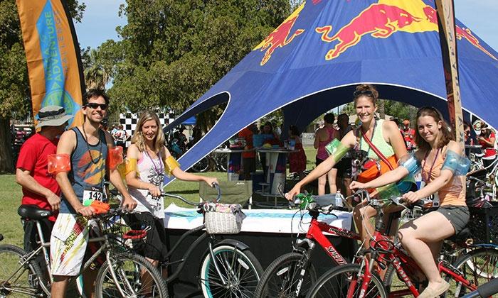 Mesa Adventure Challenge - Rendezvous Park at the Mesa Convention Center: Mesa Adventure Challenge Urban Scavenger Hunt Bike Race on April 3 at 11 a.m. (50% Off)