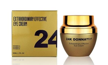Donna Bella 24K Extraordinary Effective Eye Cream (1.7 Fl. Oz.)