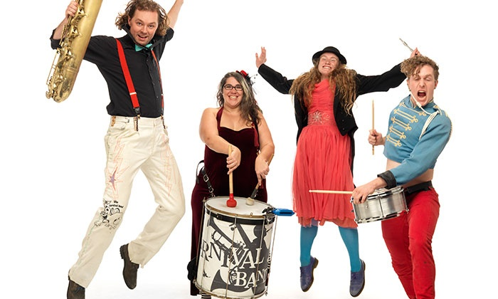 Family-Friendly New Year's Eve Variety Show - Vancouver Playhouse: Vancouver Cabaret's Family-Friendly New Year's Eve Variety Show on December 31 at 7:30 p.m. (Up to 39% Off)