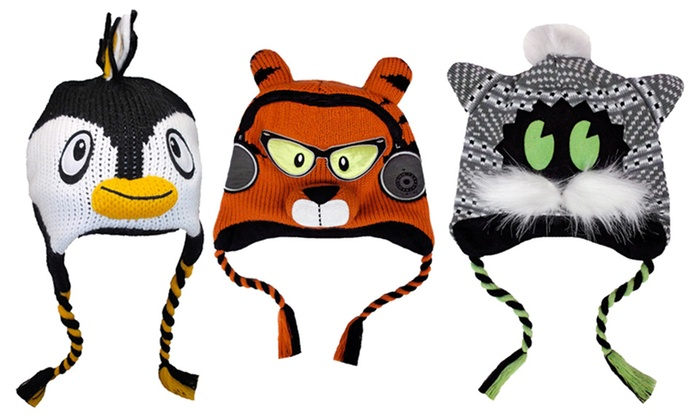 Animal Winter Hats: Animal Winter Hats. Multiple Styles Available. Free Returns.