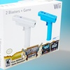 Nintendo Wii Blaster 2-Pack with Game