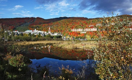 1-Night Stay for Two in a Fairmont King or Two-Double Room with Valet Parking at Fairmont Tremblant in Quebec