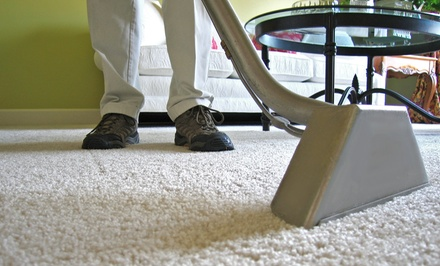 Carpet Steam-Cleaning in Three or Five Rooms from Busy Bee Carpet Steamers (Up to 51% Off)