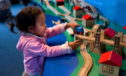 Visit for Two, Three, or Four to Bay Area Discovery Museum (Up to 55% Off)