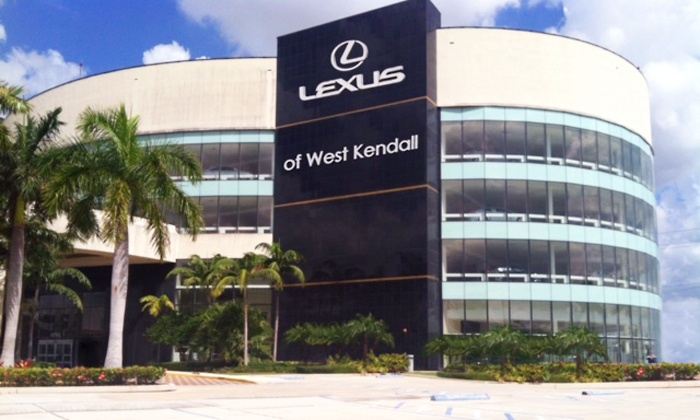 Lexus of West Kendall - West Kendall: Synthetic or Regular Oil Change with Optional Tire Rotation at Lexus of West Kendall (Up to 57% Off)