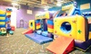 Pump It Up - Elmhurst: 5 or 10 Pop-In Playtime Sessions at Pump It Up (Up to 51% Off)